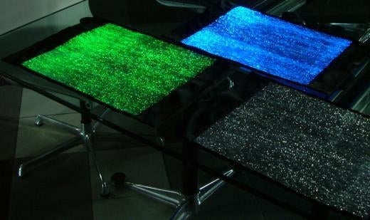 LumiTable Glowing Plate Mat Shows How Tacky You Can Be Even In the Dark