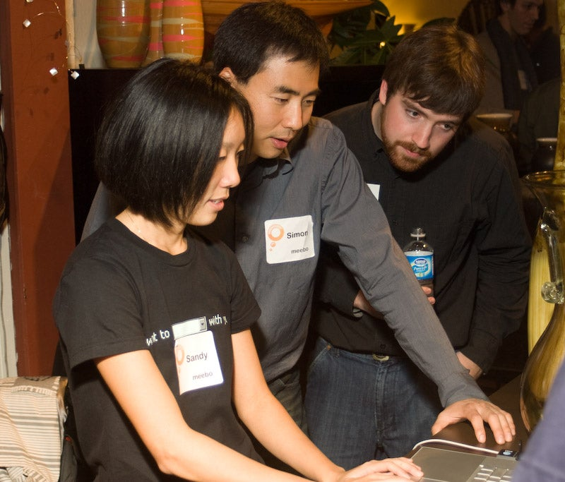 At Meebo party, everyone's measuring themselves