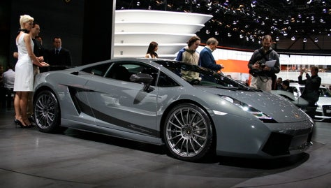 Geneva Showcase: Lamborghini Gallardo Superleggera