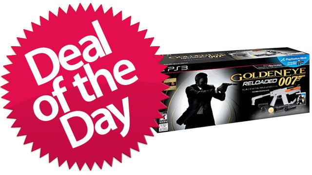 GoldenEye 007: Reloaded with Move Controller Is Your Nostalgic Violence Deal of the Day