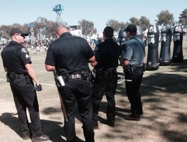 Cowboys And Raiders Brawl At Joint Practice