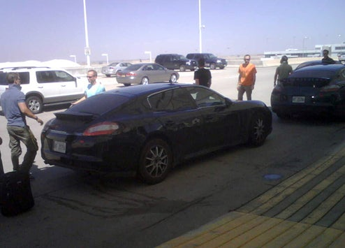 2010 Porsche Panamera Threesome Spotted At Denver Airport