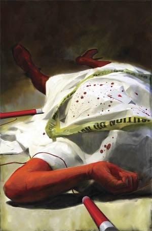 In this week's comics, Daredevil kicks the bucket (sort of)