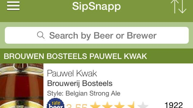 SipSnapp Scans a Beer List and Rates It For You