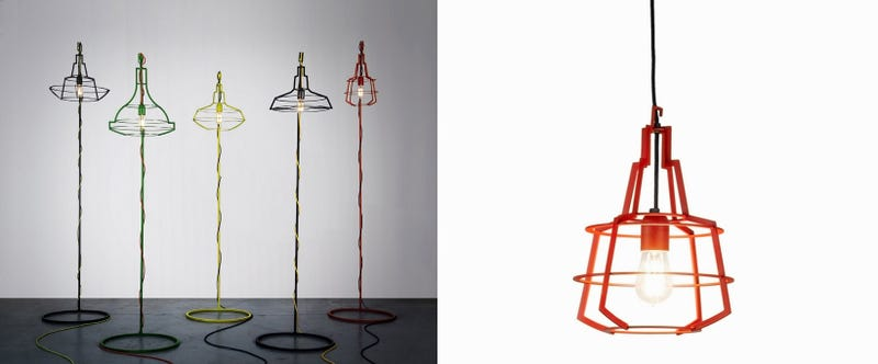 These Lamps Are a Sleek Modern Take on Industrial Lighting