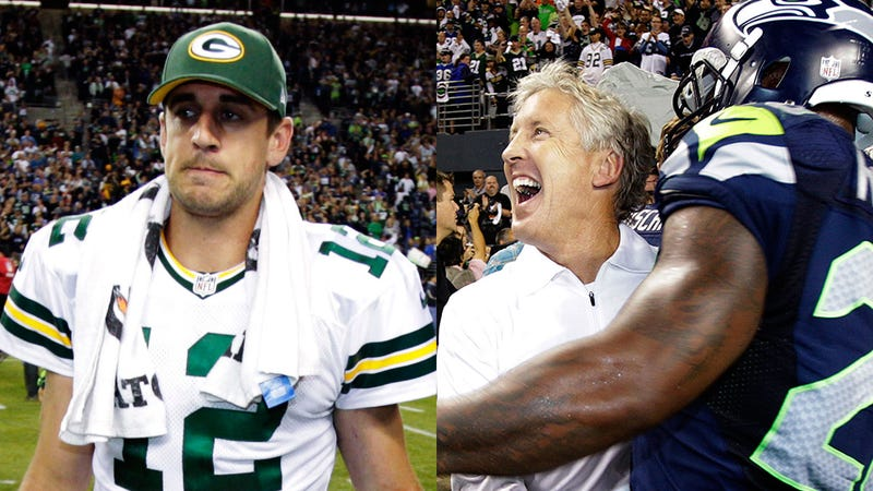 """""""If They Overturn This, The Officials Will Not Get Out Of Here Alive"""": Highlights From Last Night's Dueling Packers-Seahawks Radio Calls"""
