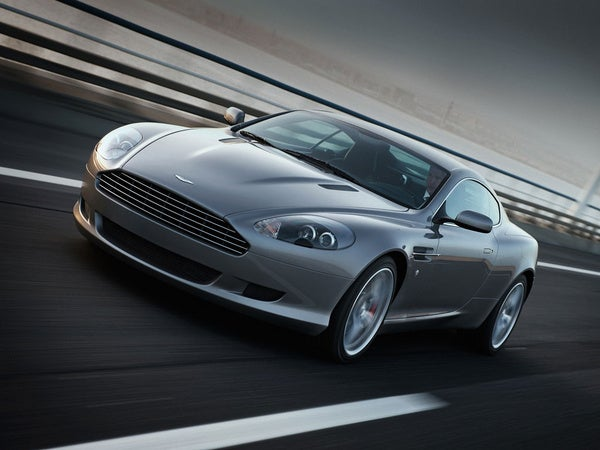 Feds Want Millionaire Thief's Aston Martin DB9