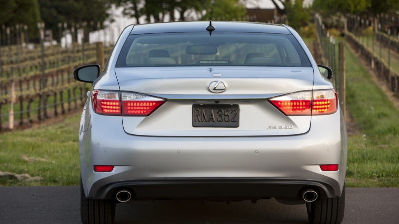 When You Need To Stuff Someone In The Trunk, Lexus Sedans Are The Way To Go