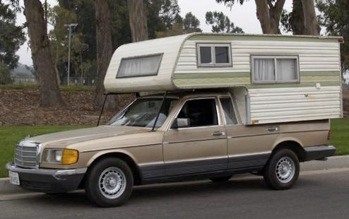 Mercedes 300SD-amino Camper, Just In Time For The Coming Financiapocalypse