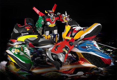 Voltron Reeboks Unite Like Robot, But Form Messy Pile