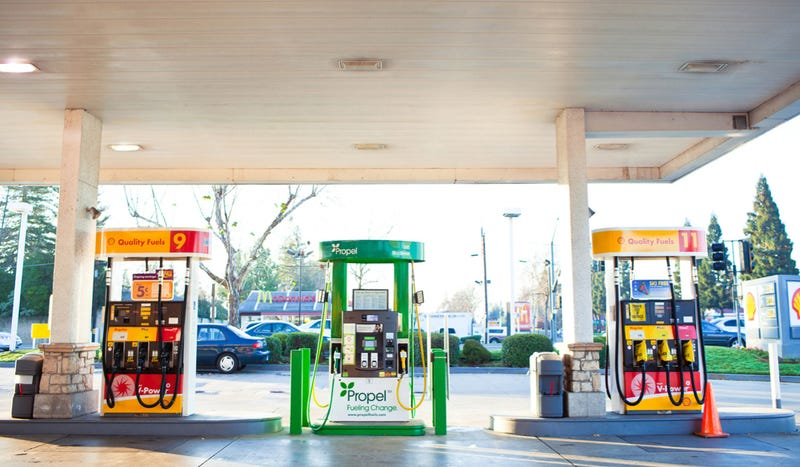 These Are The High Tech Gas Stations Of The Future (Maybe)