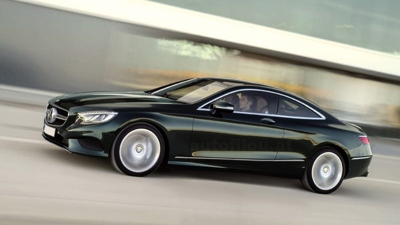 2015 Mercedes-Benz S-Class Coupe: This Is It, Unsquished