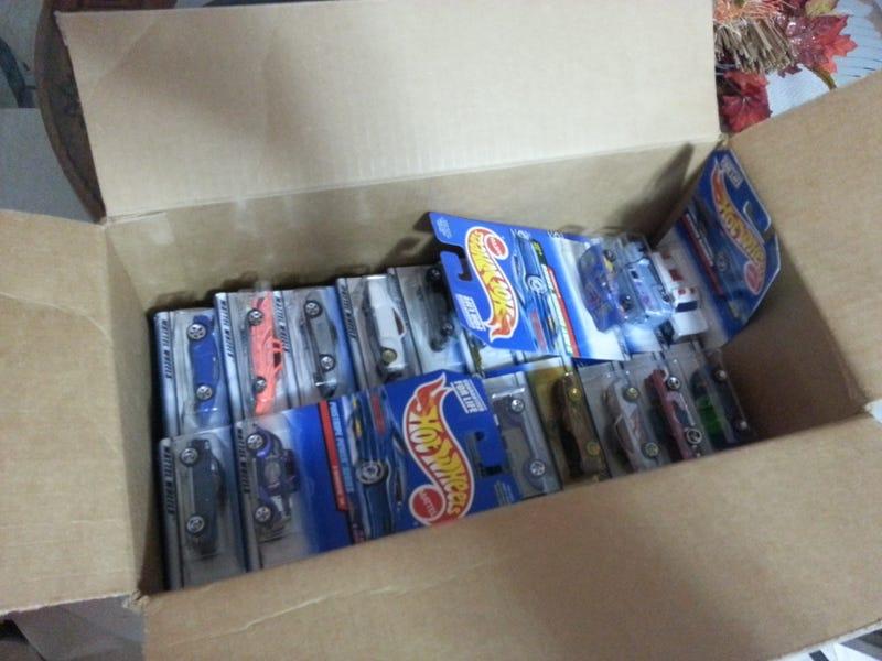 100 HotWheels haul for ze kids (HOUSTON C&C)