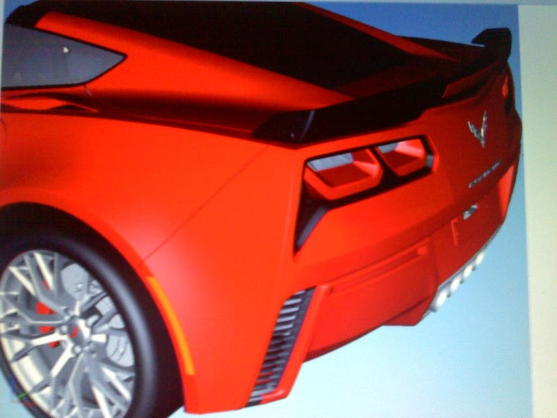 2014 Chevrolet Corvette: This Is Its Rear, Again