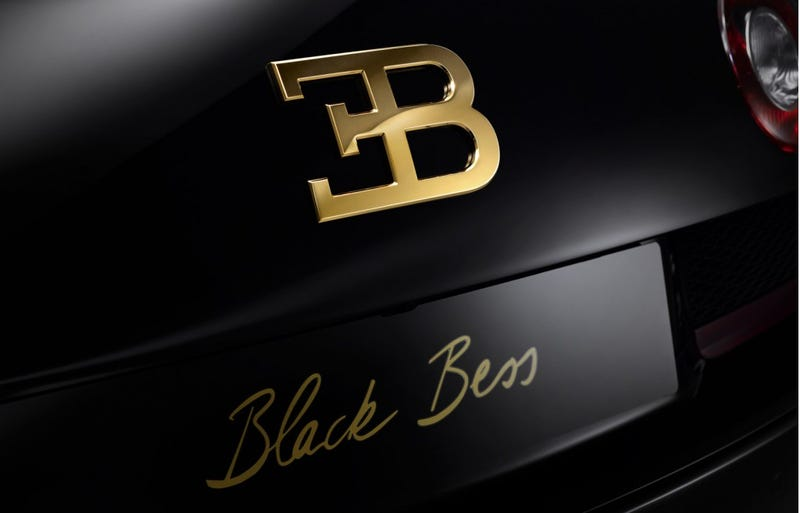 The $3 Million Bugatti Veyron 'Black Bess' Is A Supercar With Eyelashes
