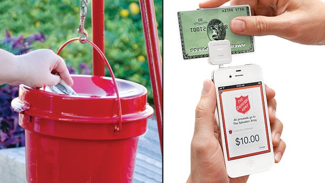 Salvation Army Santas Will Gladly Accept Your Credit Cards This Holiday Season