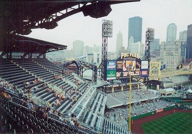 People Actually Attend Baseball Game In Pittsburgh, Security Guard Loses Finger, Cop Injures Shoulder Slapping Woman