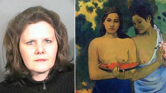Woman Who Attacked Painting Is Totally Sane CIA Agent
