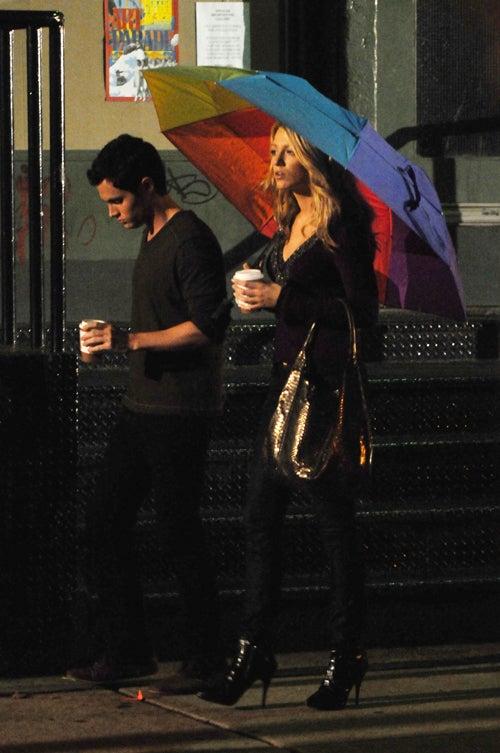 Don't Rain On Serena & Dan's (Art) Parade