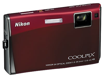 Nikon S60 Digital Camera: No Buttons or Knobs, Just 3.5 Inches of Touchscreen