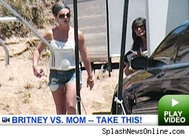 Britney Spears In Drug War With Mom
