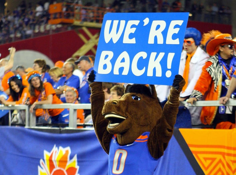 The Official Boise State Twitter Feed Was Honest For About 30 Seconds After The Broncos Lost Their Season Opener