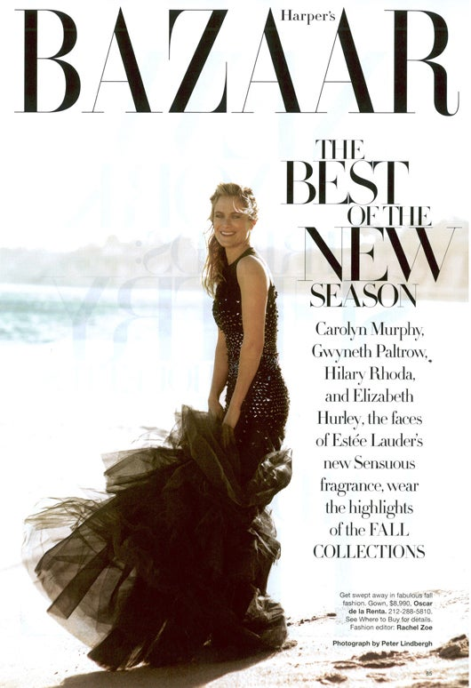 40 Pages Of Harper's Bazaar May Spell The Death Of All Journalism
