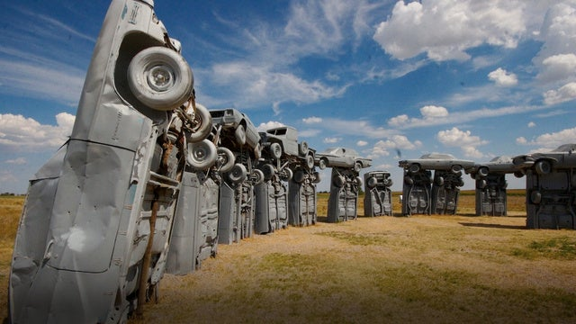 Buy Carhenge now for just $300,000