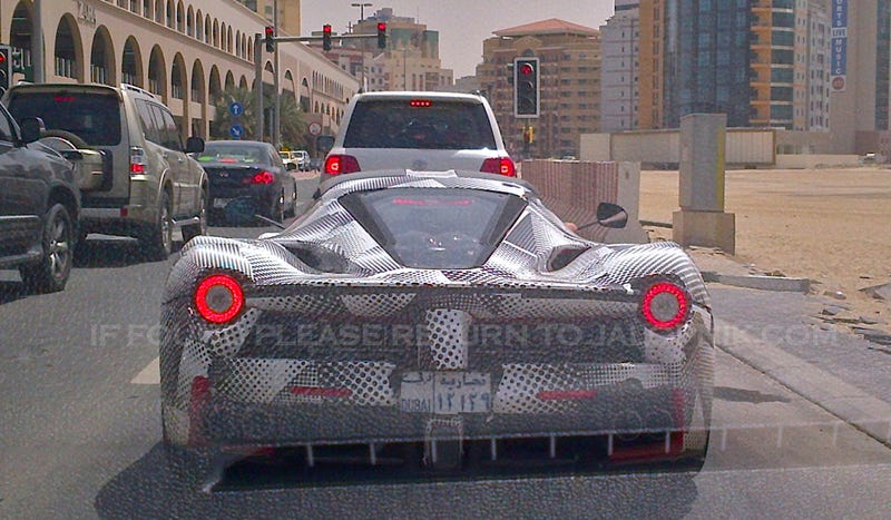 This LaFerrari In Dubai Is Testing Where It Will Probably Live