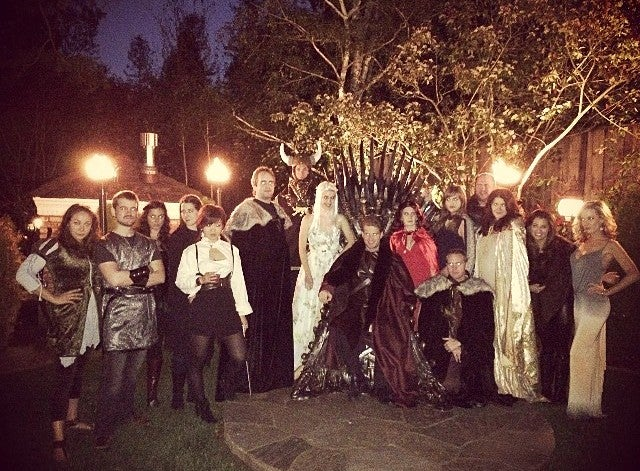 Silicon Valley Royalty Cosplay for Game of Thrones Party