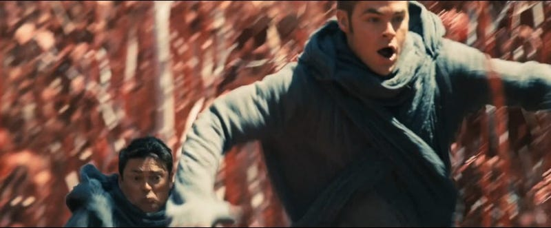 We've seen the first 9 minutes of Star Trek Into Darkness