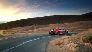 McLaren P1 + Death Valley + Gil Folk = Wallpaper