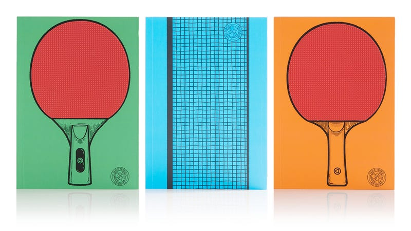 Table Tennis Notebooks Will Lead to Impromptu Office Ping Pong Throwdowns