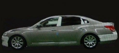 2010 Hyundai Equus Photos, $96,000 Price Tag Leak