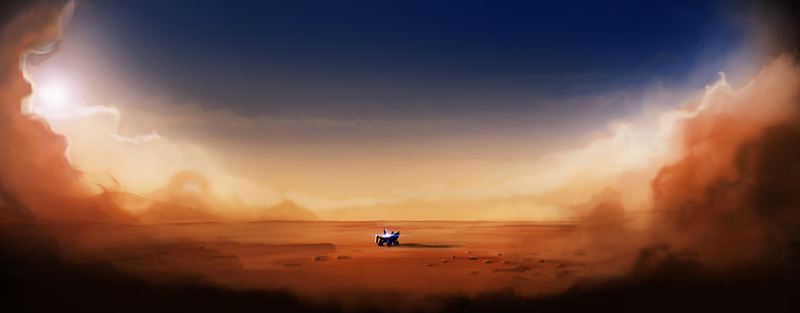 A Collection of Incredible and Inspiring Mars Curiosity Rover Art