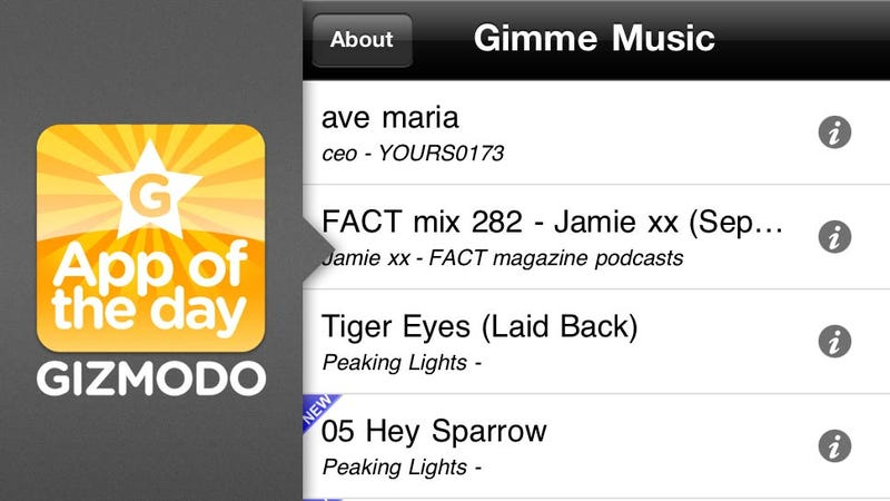 Gimme Music: Quite Possibly the Easiest Way to Discover New Music