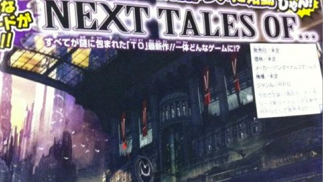 New Tales Game Is Coming