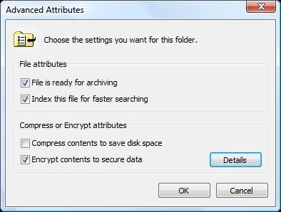 Windows Vista Tip: Encrypt files