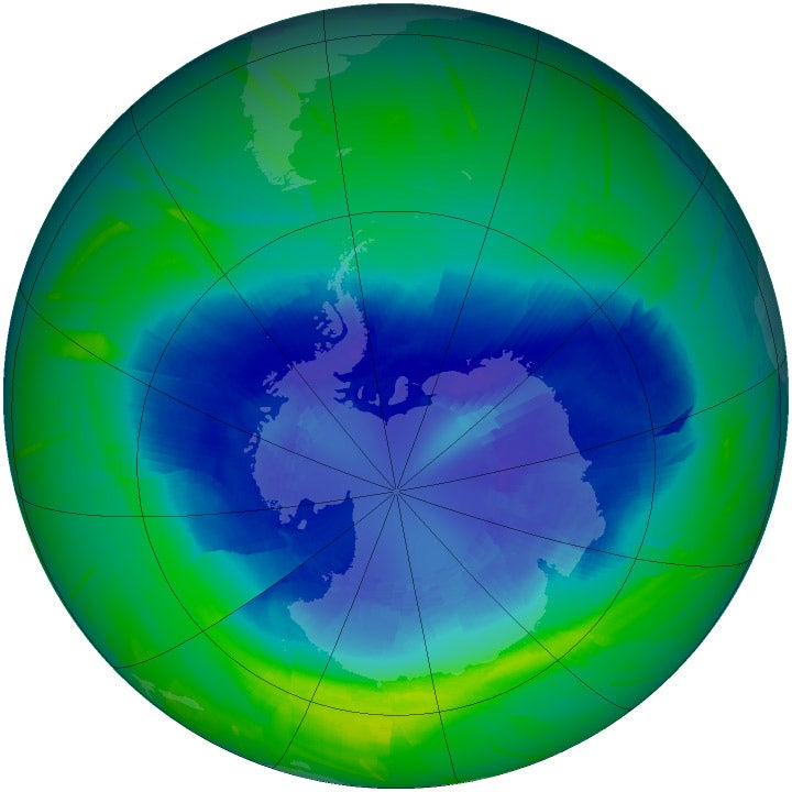 That Deathly Ozone Hole Gets Damn Huge Again