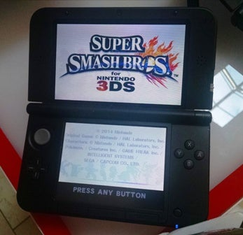 I Played Super Smash Bros. for 3DS Today. Who Wants to Touch Me?