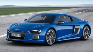 2016 Audi R8 E-Tron: This Is Audi's 456 HP Electric Supercar Future