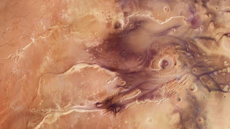Mars Had an Oxygen-Rich Atmosphere 4 Billion Years Ago