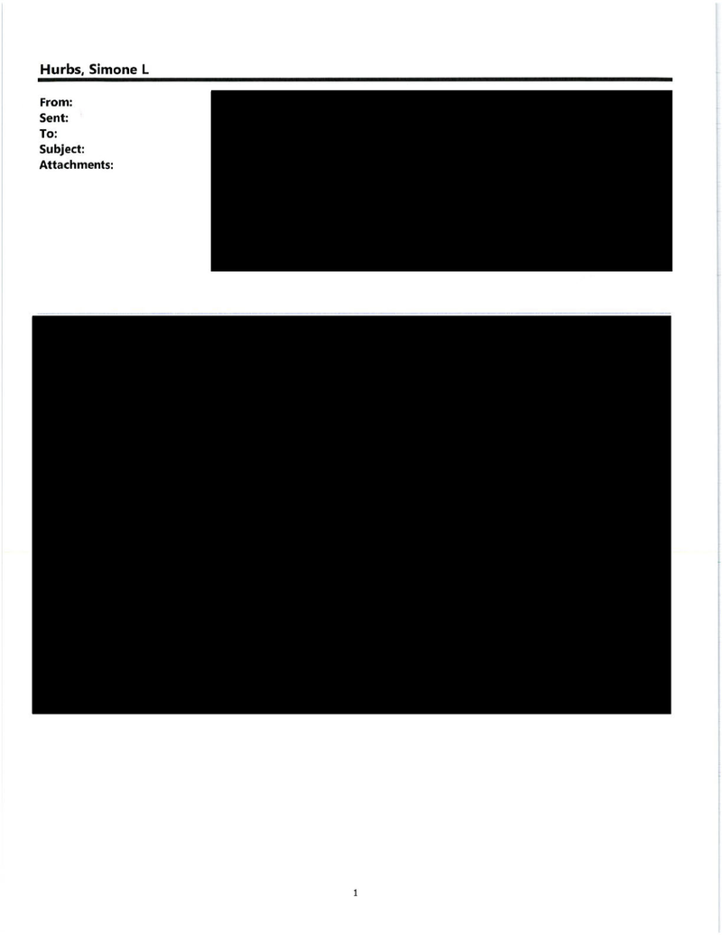 What Do You Think Is in These 73 Straight Pages of Fully Redacted Emails?