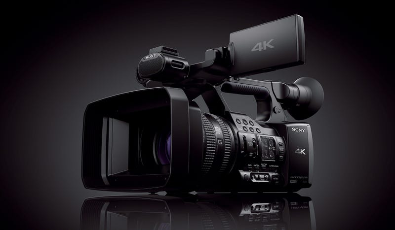 Sony AX1: A 4K Camcorder That Doesn't Cost Ten Grand