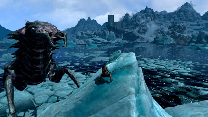 Skyrim Gets Giant Monsters Courtesy Of Fantastic Mod