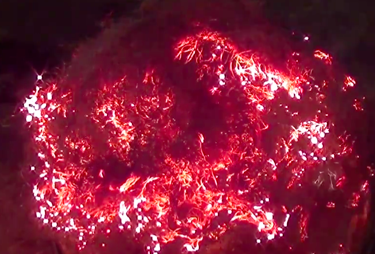 This Is What Happens When You Burn Steel Wool