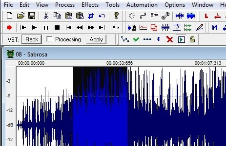 Make Simple Audio Edits with Wavosaur