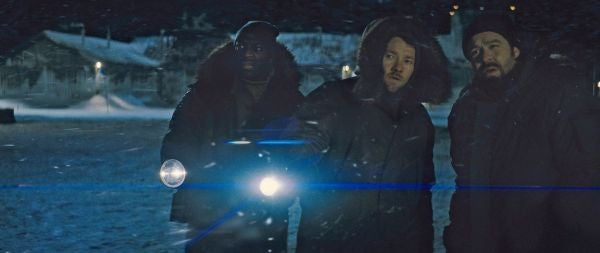 The Thing promo photos
