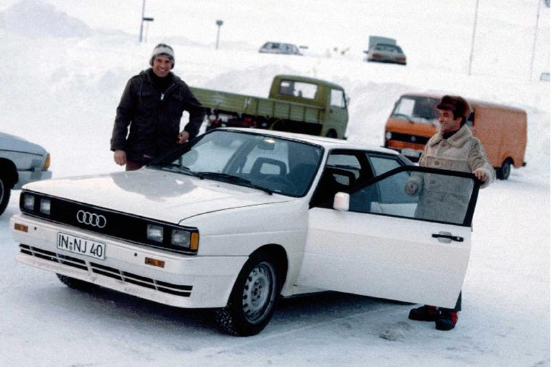 This Old German Jeep Is The Grandfather Of Audi's Legendary Quattro