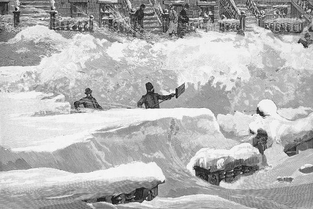 """How the Tempest Howled"": New York's Terrifying Blizzard of 1888"